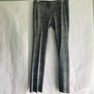 NWT Roberto Cavalli black white pants Size 48